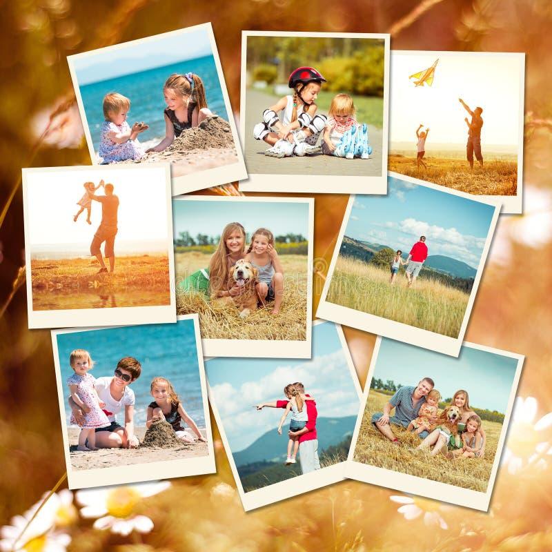 Familia el vacaciones imágenes de archivo libres de regalías