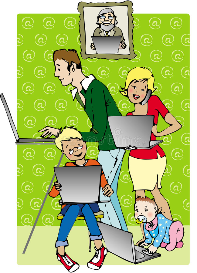 Familia en línea