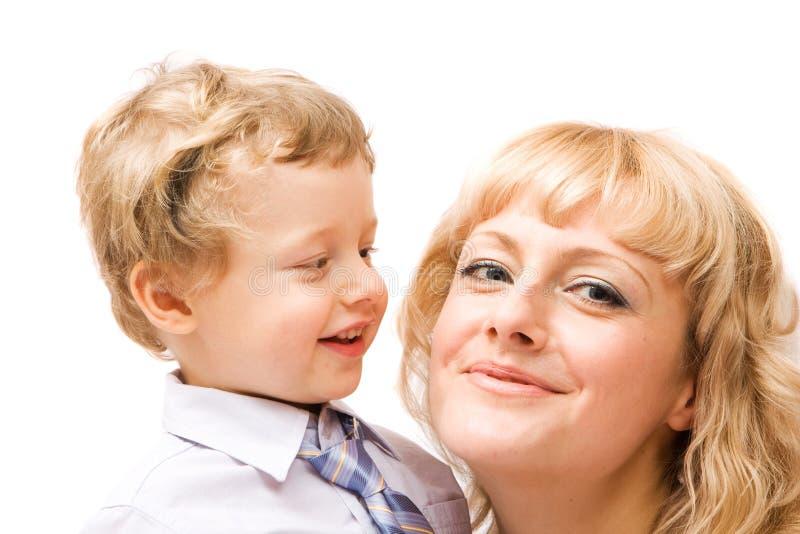 Download Familia feliz foto de archivo. Imagen de cara, hijo, belleza - 7283726