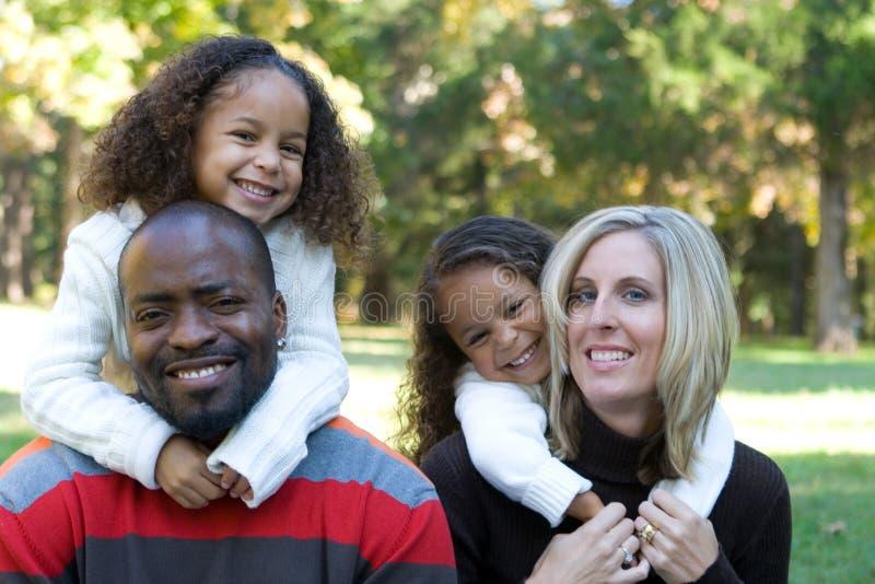 Familia hermosa imagen de archivo