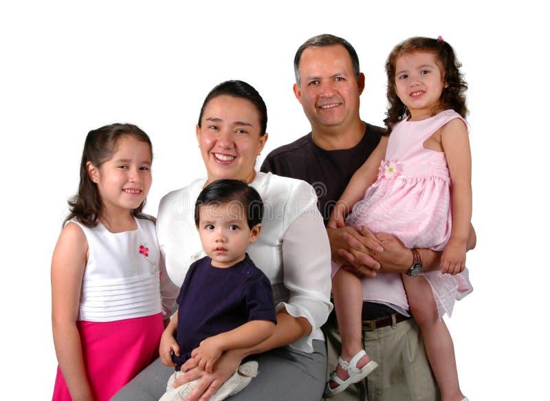 Familia latina imagenes de archivo