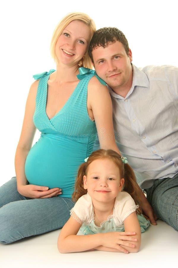Familia linda foto de archivo