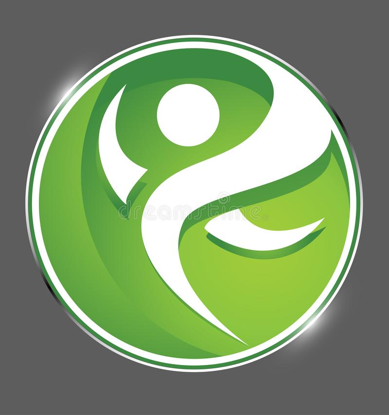 Familia, parenting, logotipo del cuidado dental, símbolo de la educación sanitaria del dentista, diseño determinado del icono del libre illustration