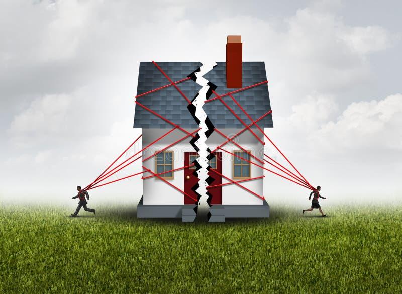 Familia quebrada libre illustration