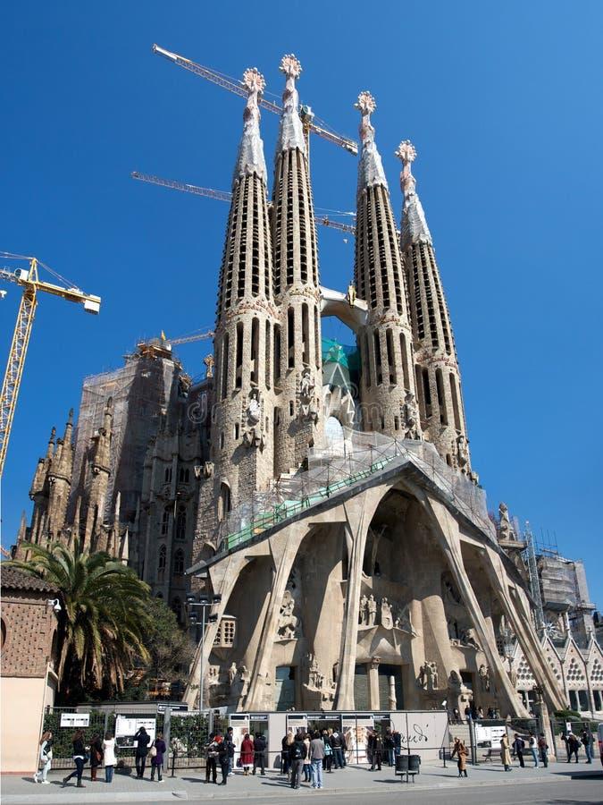familia Sagrada fotografia royalty free