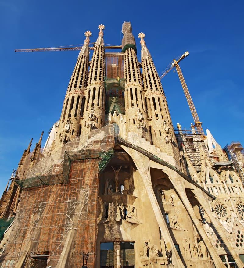 Download Familia sagrada barcelona стоковое изображение. изображение насчитывающей католицизм - 41661101
