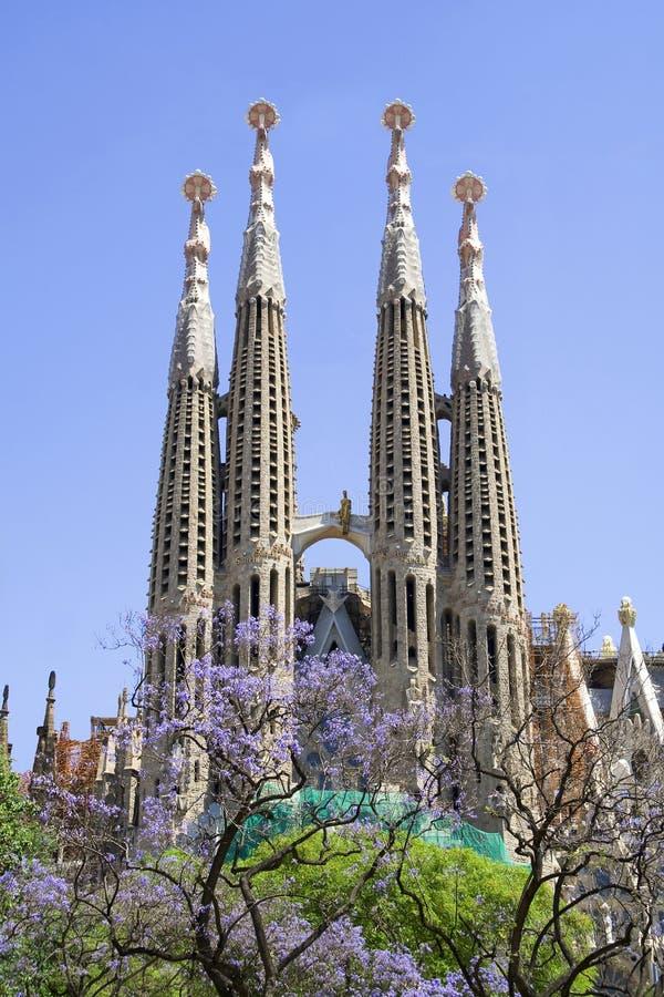 familia sagrada de Barcelone photo libre de droits