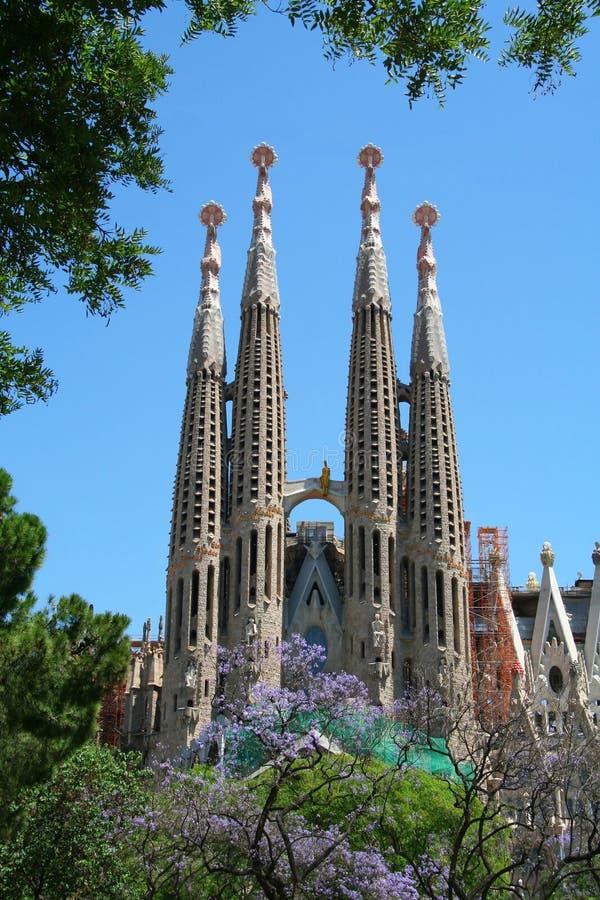 familia sagrada de Barcelone photographie stock