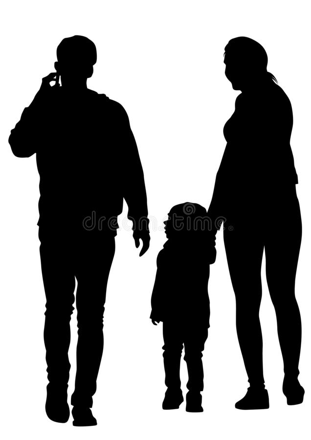 Familia seis libre illustration