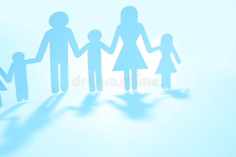 Familia unida junto imagen de archivo