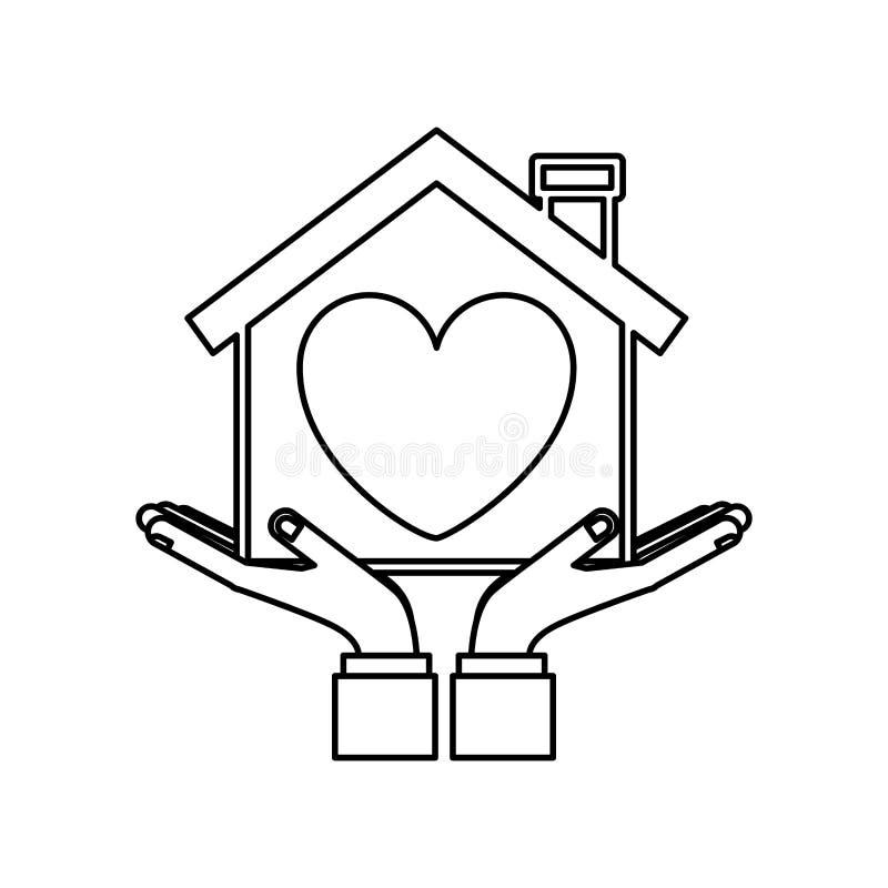 Familia y hogar stock de ilustración