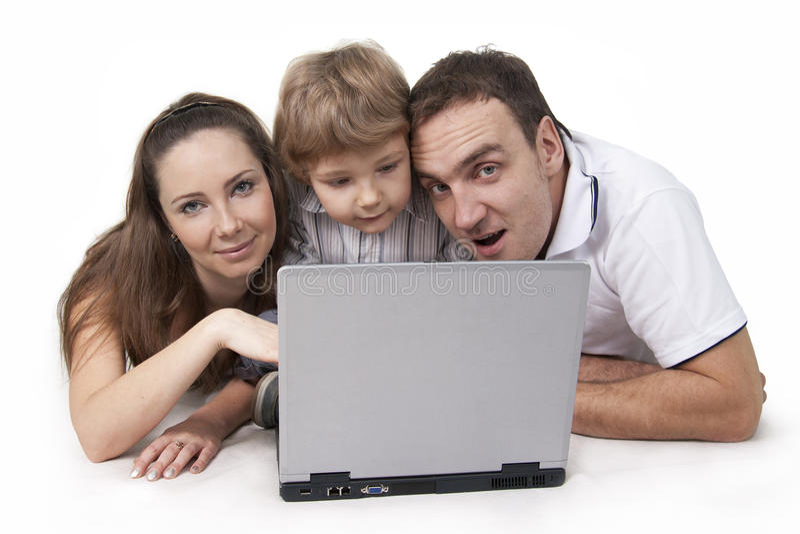 Familia y ordenador
