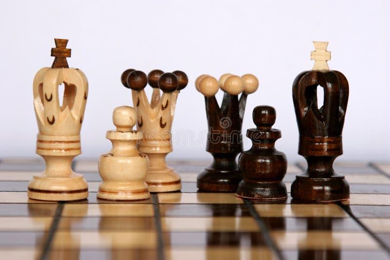 Familias del ajedrez imagen de archivo libre de regalías
