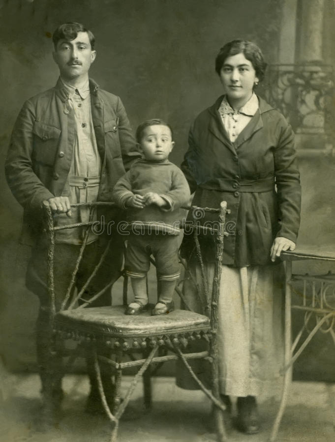 Familie. stock fotografie