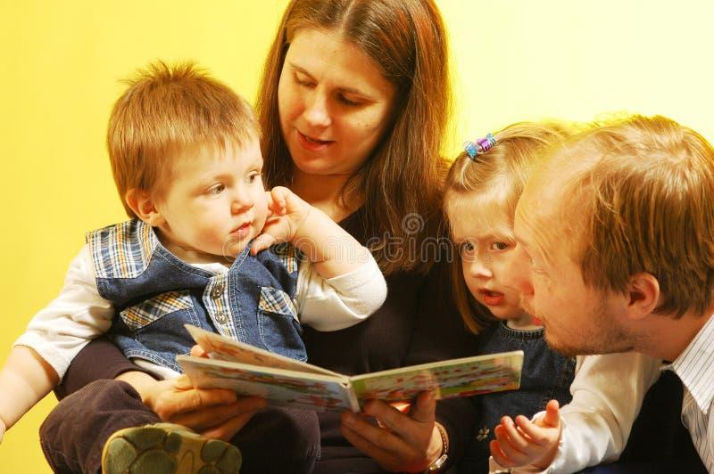 Familie stockfotografie