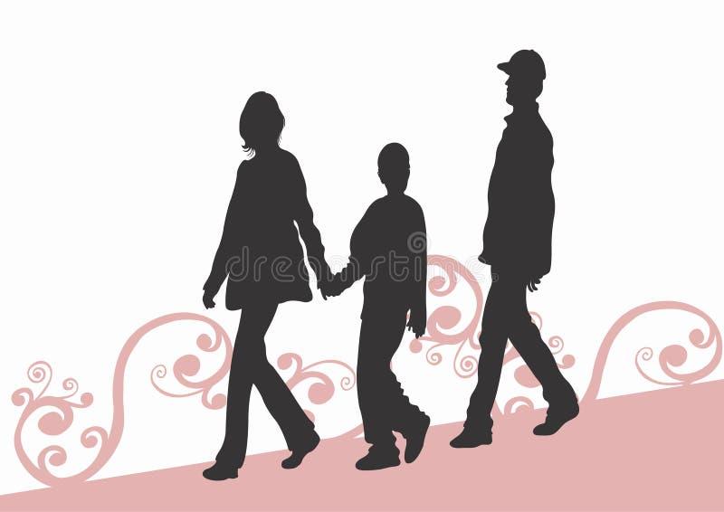 Familie lizenzfreie abbildung