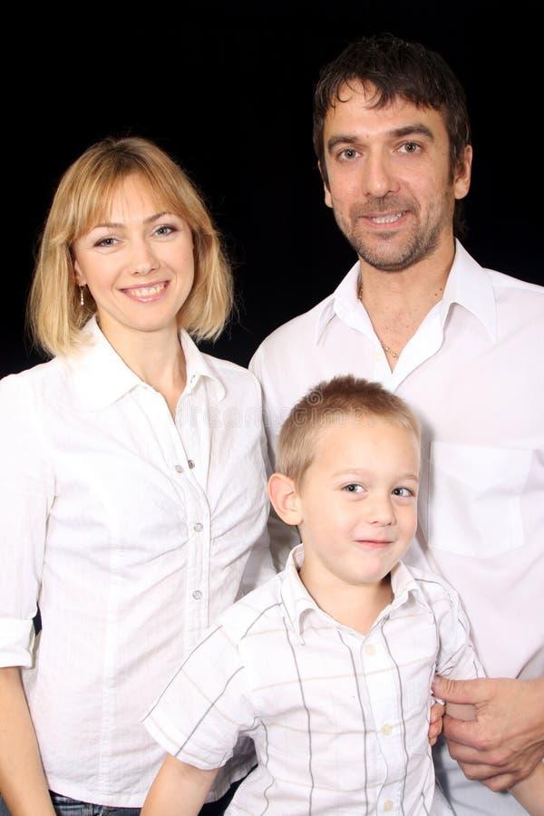 Familie royalty-vrije stock afbeelding