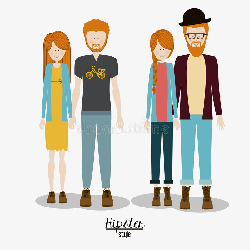Familie, ontwerp vector illustratie