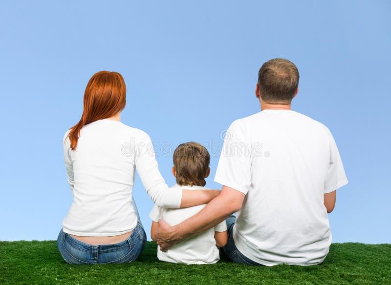 Familie samen royalty-vrije stock afbeelding