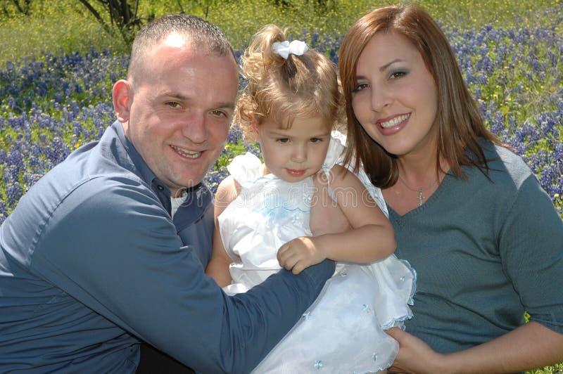 Familie samen royalty-vrije stock foto