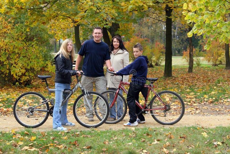 Familie - Weg stockbild
