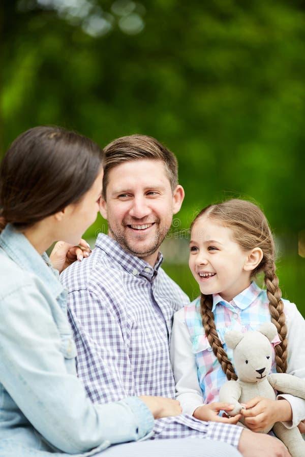 Familiekou stock afbeeldingen