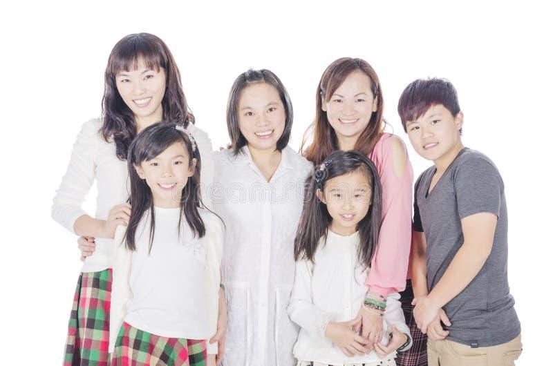 Familielid stock foto