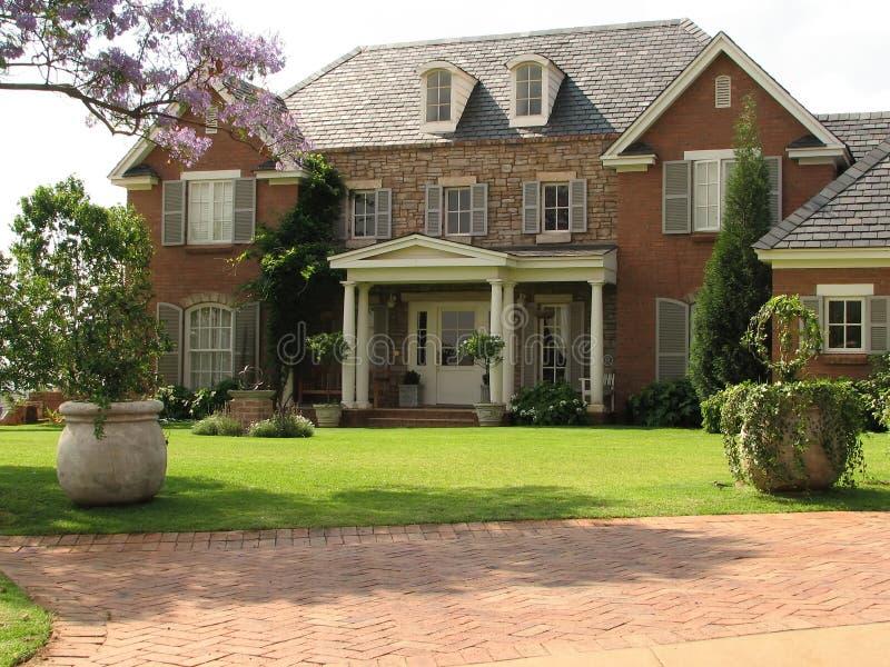 Familien-Haus stockfoto