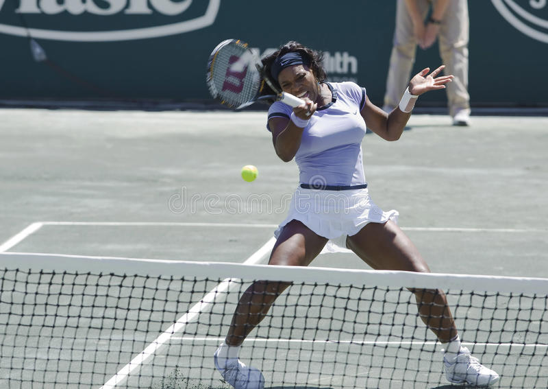 Familien-Kreis-Cup Serena-Williams stockfoto