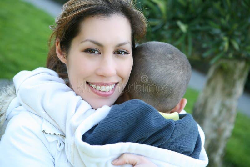 Familien-Liebe stockfotografie