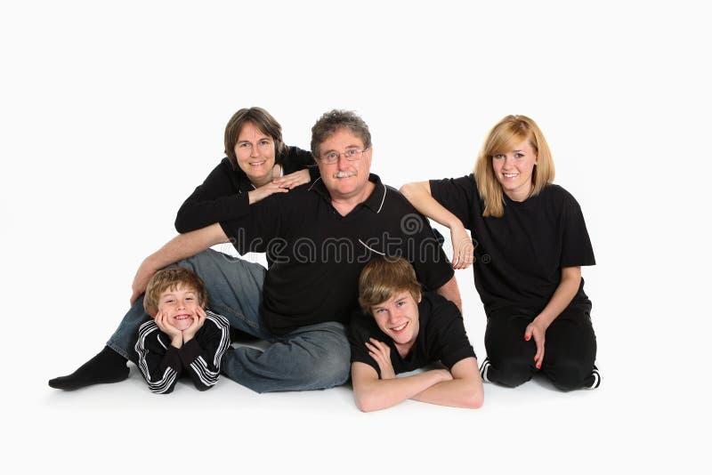 Familien-Portrait lizenzfreies stockfoto