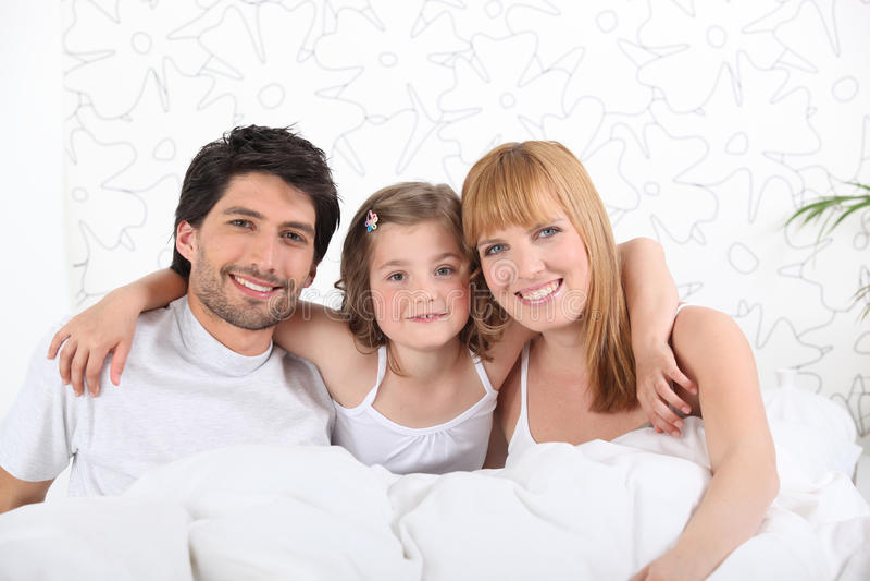 Familien-Portrait lizenzfreie stockfotos
