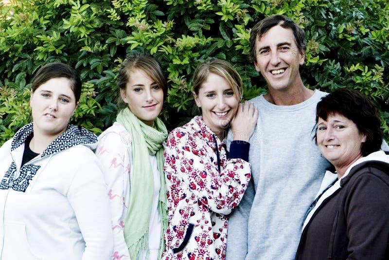 Familien-Portrait stockbilder