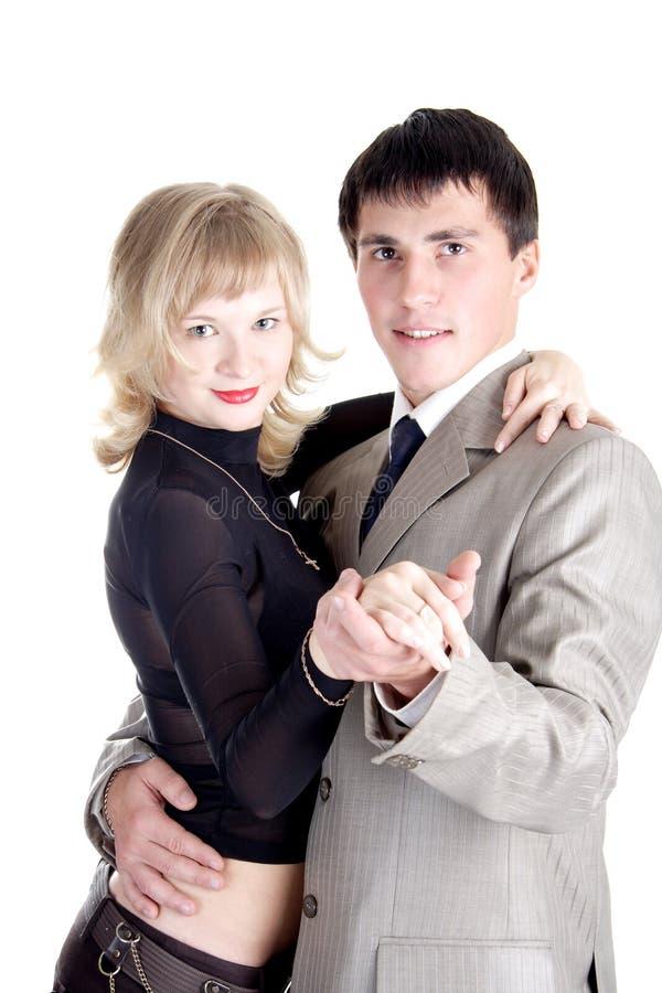 Familien-Tango stockfoto