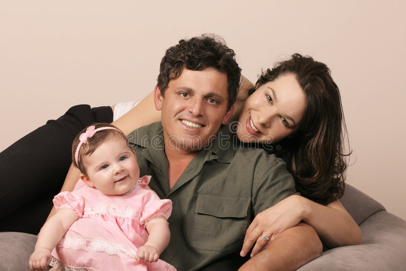 Familien-Zusammengehörigkeit lizenzfreie stockfotografie