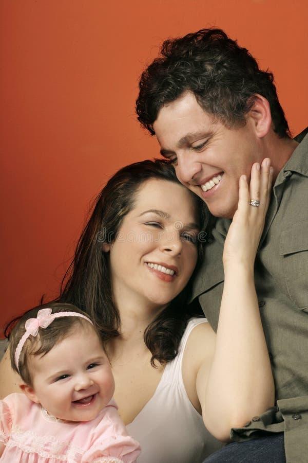 Familien-Zusammengehörigkeit lizenzfreie stockfotos