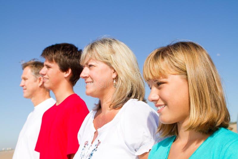 Familienanordnung stockfoto