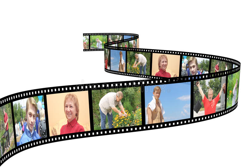 Familienfotos lizenzfreie stockfotos