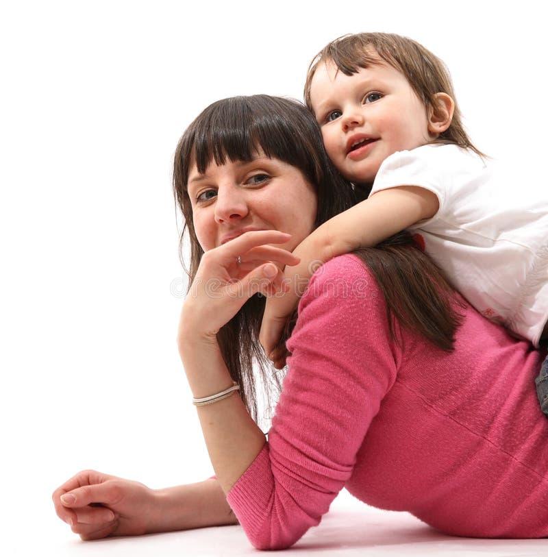 Familienglück lizenzfreie stockfotos