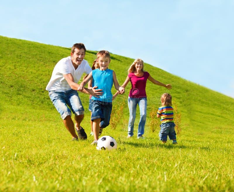 Familienlebensstil lizenzfreies stockbild