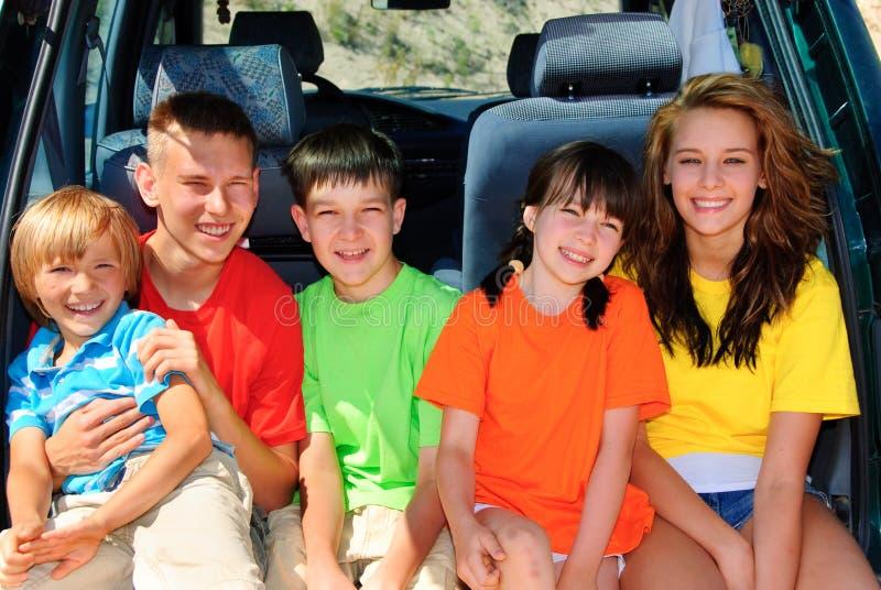 Familienreise lizenzfreie stockbilder
