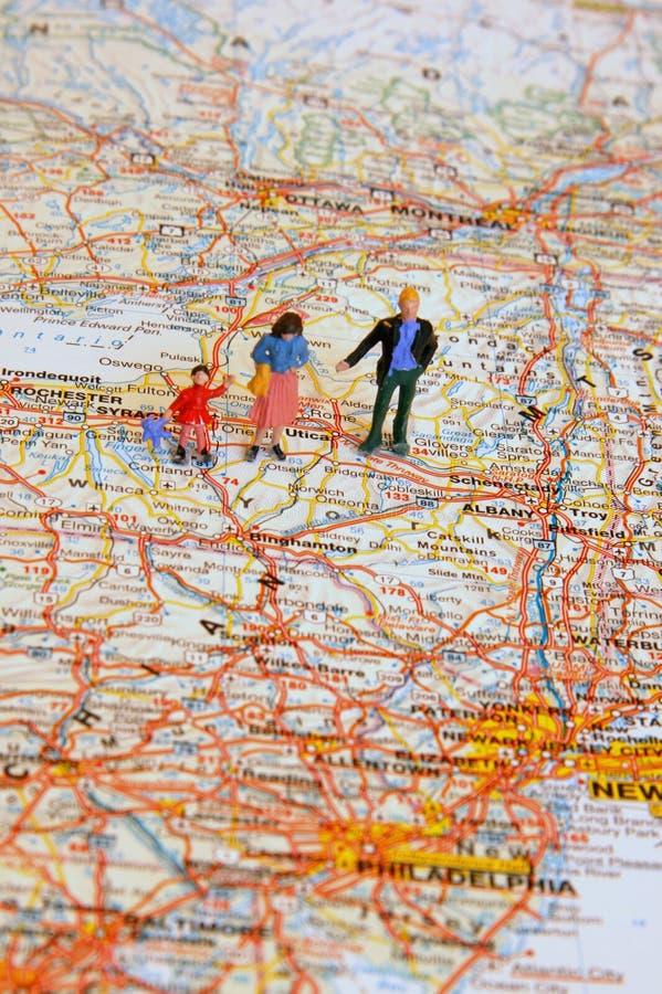 Familienreise stockfoto