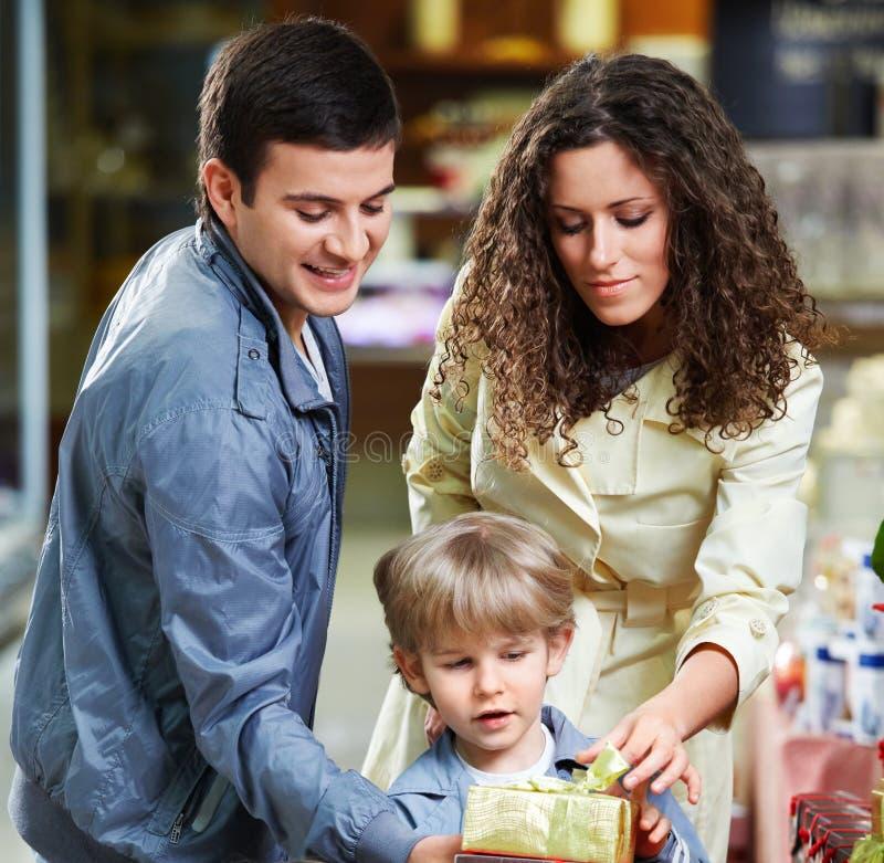 Familiensorgfalt stockbild