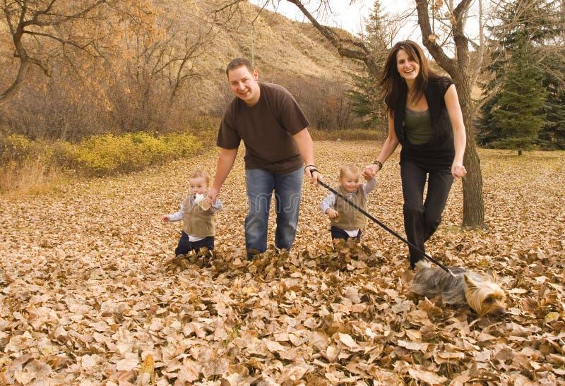 Familienspielen lizenzfreies stockbild