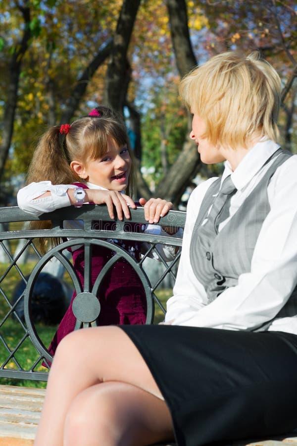 Familienunterhaltung. lizenzfreies stockbild
