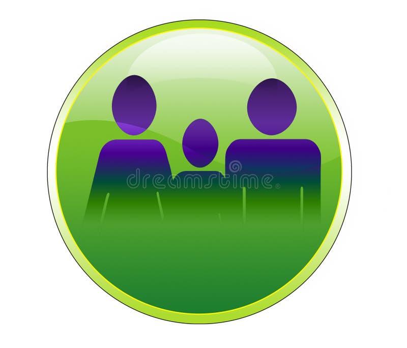 Download Familiepictogram stock illustratie. Illustratie bestaande uit cijfer - 39102644