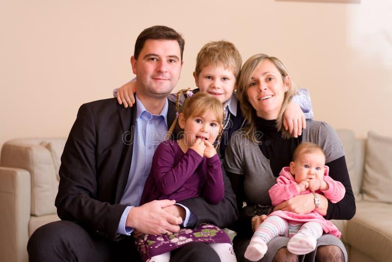 Familiy Portrait lizenzfreies stockbild