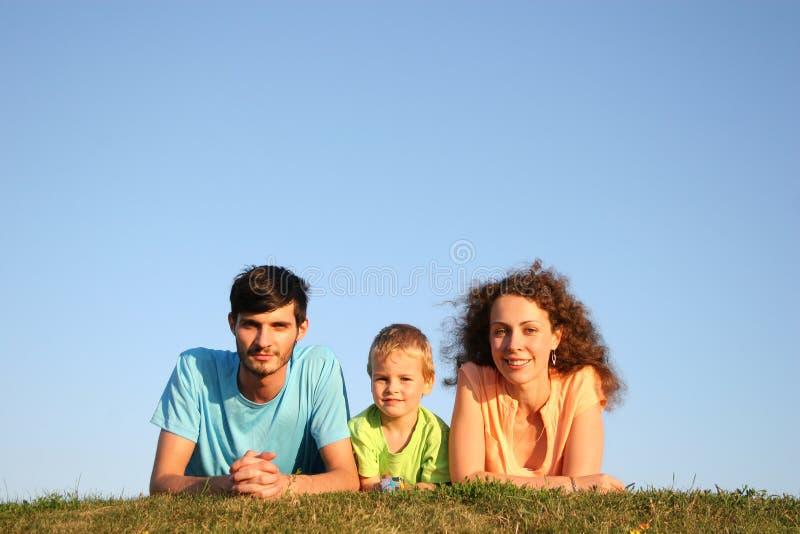 familjört royaltyfri fotografi