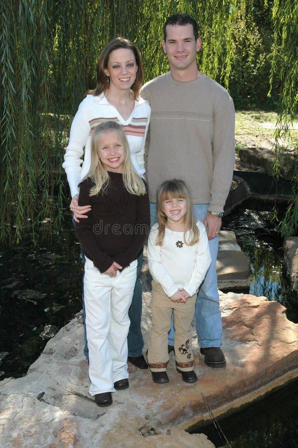 familj arkivbild