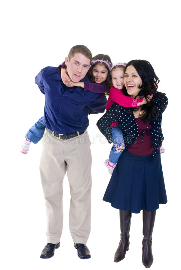 familj royaltyfria bilder